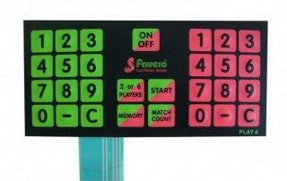 Custom Membrane Switch 10