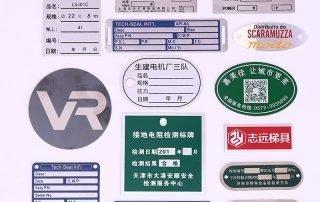 custom nameplates