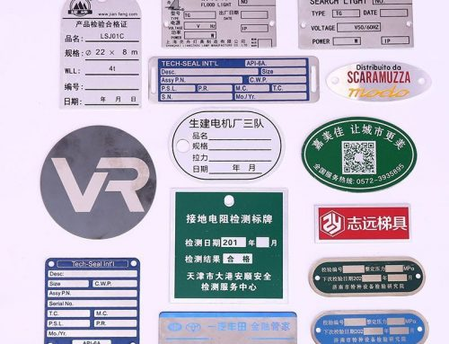 The benefits and industrial application of custom name plates