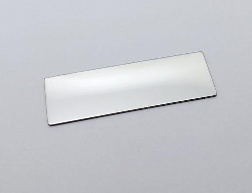 Custom blank metal name plates