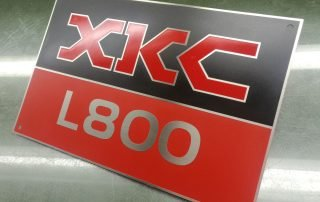 name plate etching