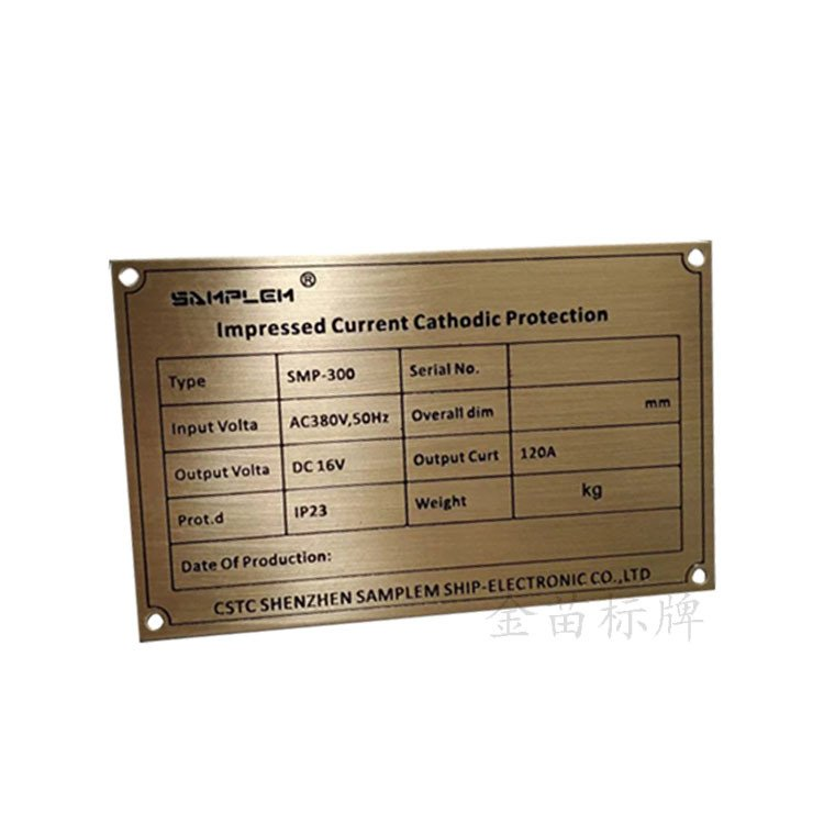 stainless steel name tag