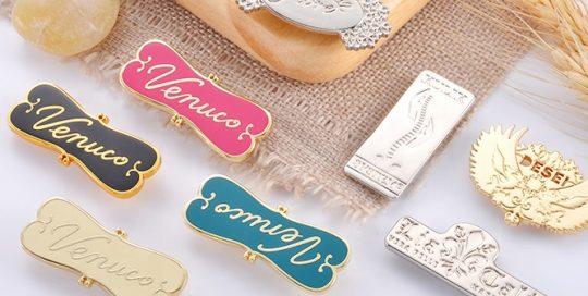 metal name plates for handbags